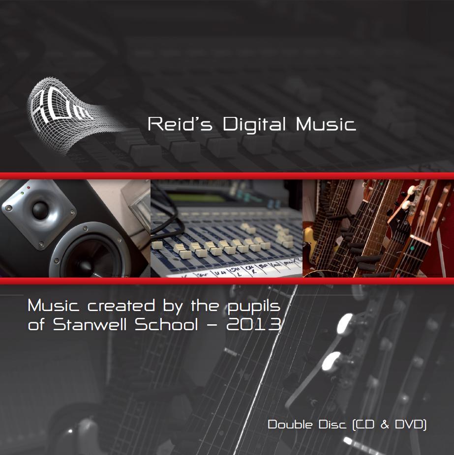 Reid's Digital Music 2013 Album