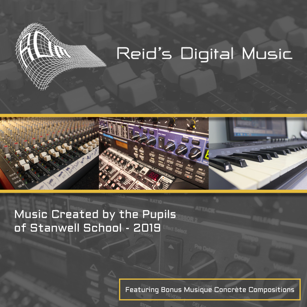 Reid's Digital Music album 2019